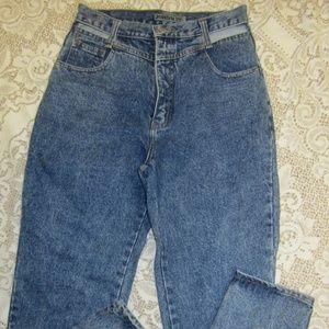 Vintage Jordache jeans - cut out design - 13/14